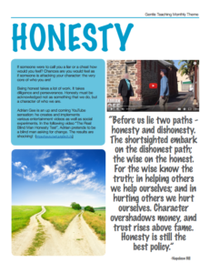 GT Theme - Honesty